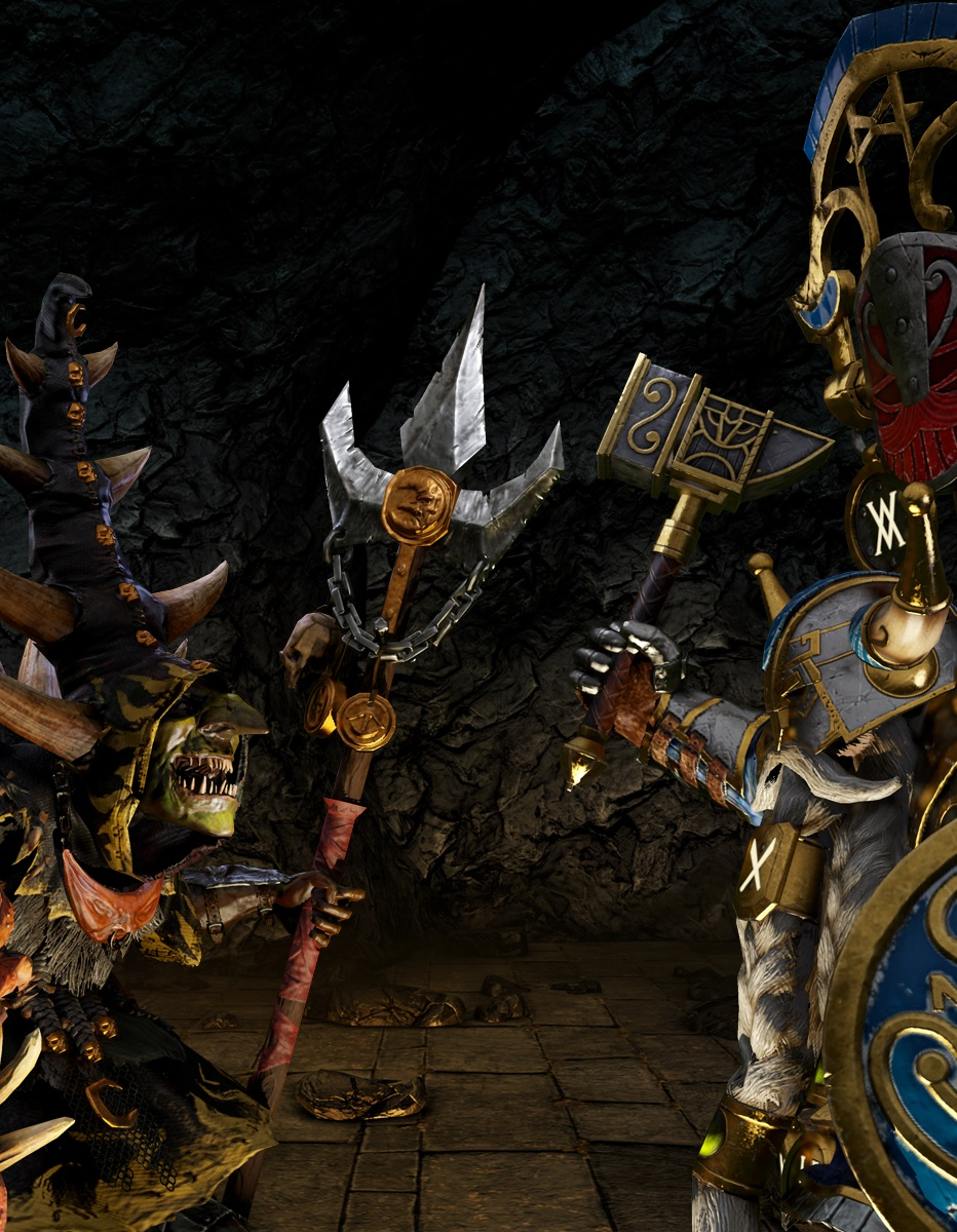 Total War: WARHAMMER - The King & The Warlord Lords Pack