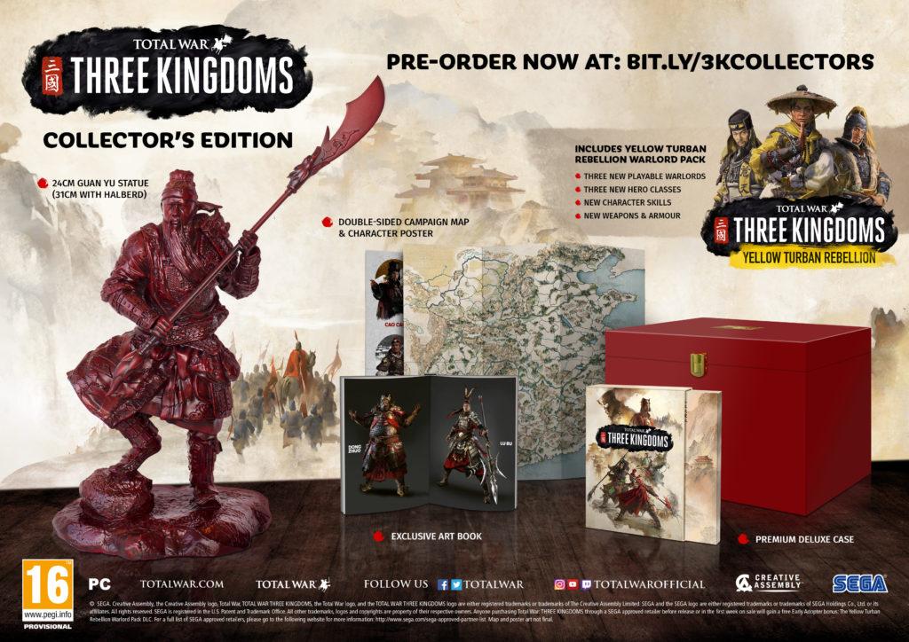 Total War: Three Kingdoms Collector's Edition