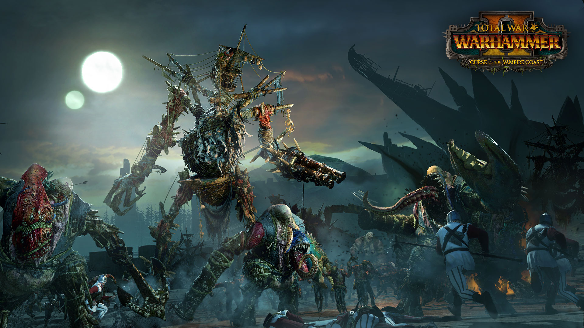 Curse Of The Vampire Coast Roster Reveal Total War