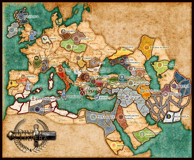 DEI Campaign Map of Europe and Northern Africa