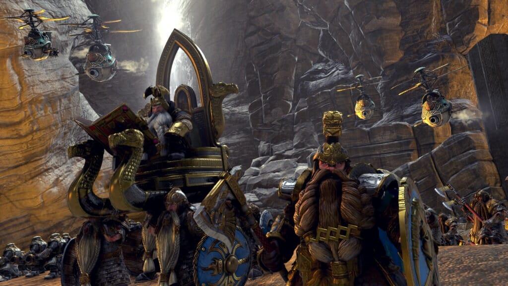 Dwarf Battle Axe On Mount Fantasy Art
