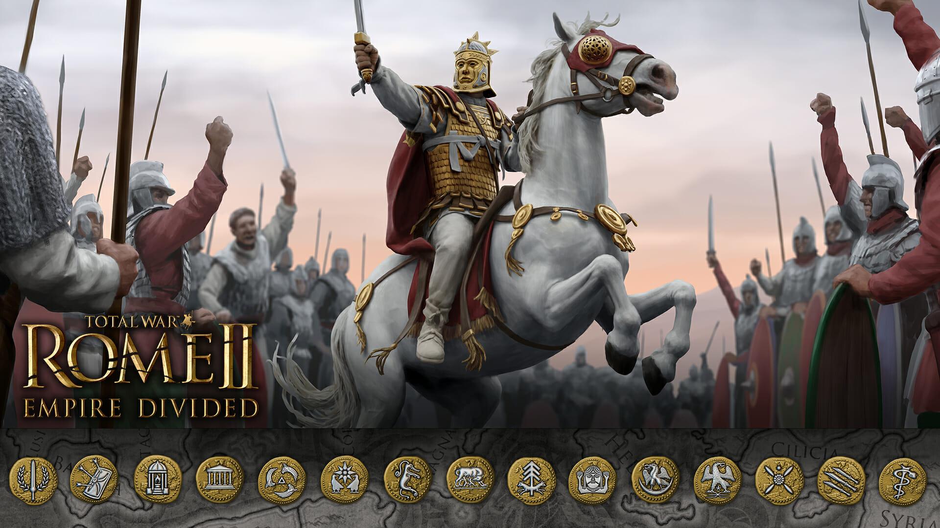 Total War Rome Ii Empire Divided Steam Achievements Total War