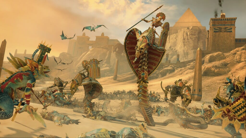 Tomb Kings Update Patch Notes and Reworking Bretonnia - Total War