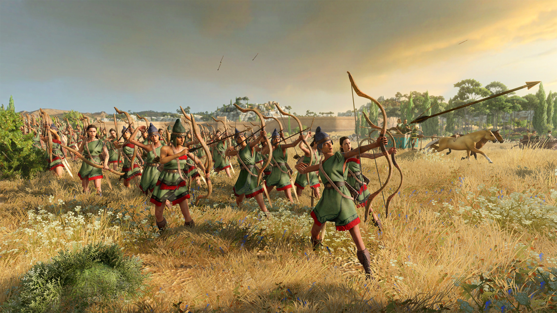 From Themiscyra To The Aegean Designing The Amazons Total War